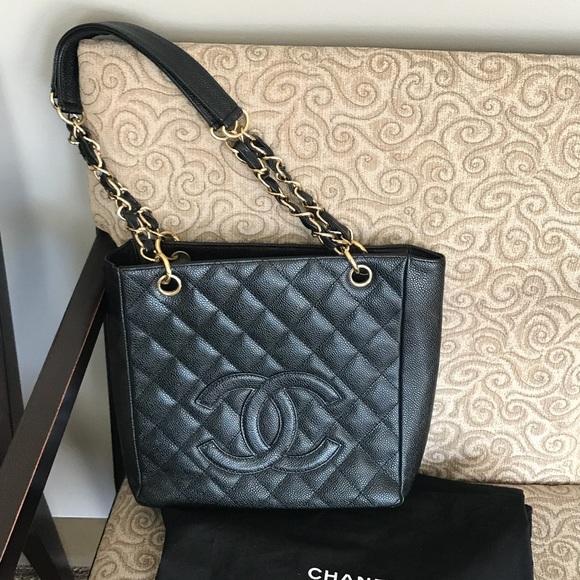 0d53a11b4f0e43 CHANEL Handbags - Chanel Caviar PST Petite Shopping Tote